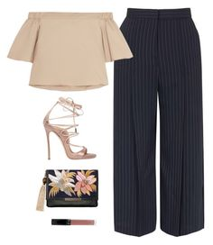 """""""#825"""" by aliensforsale ❤ liked on Polyvore featuring Topshop, TIBI, Dsquared2 and Lizzie Fortunato"""