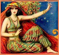 Belly dancer by W. T. Benda, ca. 1926