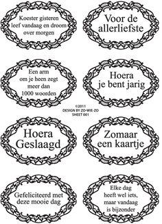 Text stempels NL