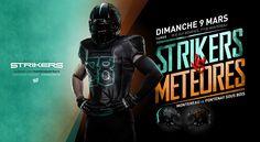 Direction Artistique, shooting, retouche et graphisme de la communication globale des Strikers pour la saison 2013/2014