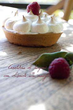 Da una ricetta dello chef pasticcere Luca Montersino Per la pasta frolla vedete la ricetta qui : Ricetta frolla Montersino Per la meringa...