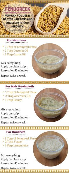 How to Use Fenugreek for Hair Loss, Hair Thinning and Hair Re-Growth Oil For Hair Loss, Stop Hair Loss, Prevent Hair Loss, Foods For Hair Loss, Hair Remedies For Growth, Hair Loss Remedies, Thinning Hair Remedies, Natural Hair Growth, Natural Hair Styles