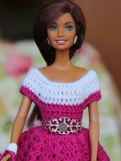 Die 109 Besten Bilder Von Häkeln Barbiekleidung Barbie Dress