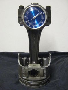 Ford Big Block Piston and Rod Clock