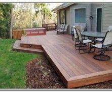 Backyard Deck Patio Design