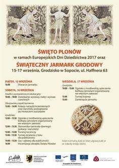 Święto Plonów 15-17.09.17 w Sopockim Grodzisku