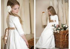 Love cotton dresses.  teresa y Leticia I Ropa de niños
