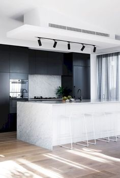 21 Stunning Luxury Black Kitchen Design Ideas