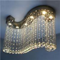 Großhandel Moderne Kristall Lampen Schlafzimmer Kronleuchter Diamant K9  Kristall Pendelleuchten Kronleuchter Für Esszimmer Eingang Flur Leuchtet
