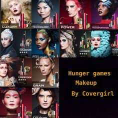 Hunger Games makeup! From covergirl