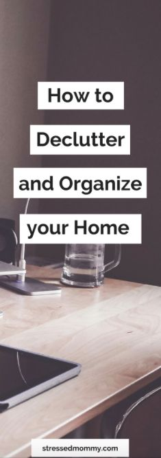 Is your house a hot mess?  Click here to find 12 easy tips to declutter and organize your home.
