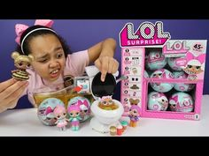 LOL Surprise Bad Baby Crybaby - Super Gross Pee & Spit - Blind Bags Opening - YouTube