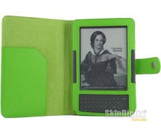 Green Leather Case Cover Jacket For Amazon Kindle 3 with FREE SHIPPING WORLDWIDE! :)    http://www.skindigitalstore.com/products/Green-Leather-Case-Cover-Jacket-For-Amazon-Kindle-3-.html
