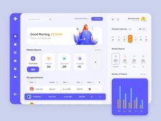 Dashboard Ui, Dashboard Design, Web Ui Design, Financial Dashboard, Digital Dashboard, App Design Inspiration, Ui Web, Landing Page Design, Interface Design