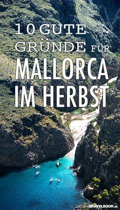 Die große Sommerhitze ist vorbei, die Touristenmassen abgezogen. Der perfekte Zeitpunkt, um nach Mallorca zu reisen! http://www.travelbook.de/europa/Nicht-zu-heiss-mehr-Platz-guenstiger-10-Gruende-warum-Mallorca-im-Herbst-so-schoen-ist-171235.html