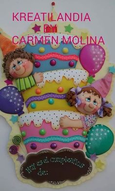 Foam Crafts, Diy And Crafts, Arts And Crafts, Ideas Para Fiestas, Dyi, Girl Cartoon, Classroom Decor, Kids And Parenting, Art For Kids