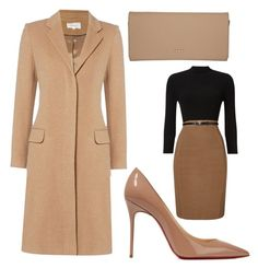 A fashion look from October 2016 featuring long-sleeve mini dresses, single-breasted trench coats and pointed toe pumps. Browse and shop related looks. Business Outfits, Business Attire, Chic Outfits, Fashion Outfits, Lawyer Outfit, Mexican Fashion, Gown Suit, Signature Look, Got The Look