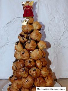Ma cuisine de saison: Pyramide de choux Muffin, Cookies, Breakfast, Desserts, Food, Truffle, Sprouts, Greedy People, Crack Crackers