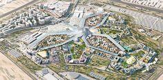 HOK designed a sustainable master plan for Dubai's winning bid for World Expo 2020.
