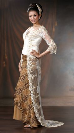 Indonesian Kebaya #fashion #Indonesia #kebaya
