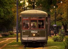 St. Charles Streetcar in the Garden District, New Orleans