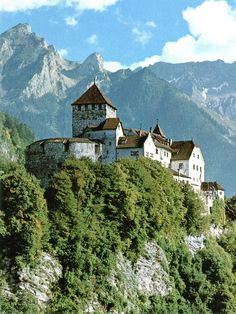LIECHTENSTEIN - Vaduz Castle - The castle is the official residence of the Prince of Liechtenstein.