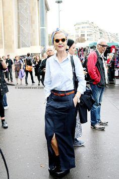 Haider Ackermann SS 2014 Paris Snapped by Benjamin KwanParis Fashion Week
