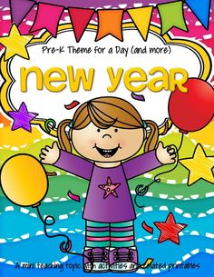 new year theme activities and printables for preschool and kindergarten
