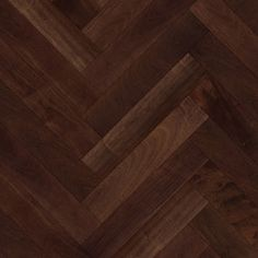 dark wood herringbone flooring | Seamless Dark Parquet Herringbone Floor…