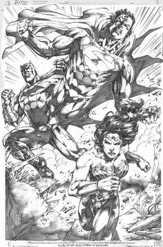 Justice League By MARCIOABREU7 On DeviantArt
