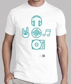 Camisetas Artysmedia - http://www.latostadora.com/artysmedia/love_music/723926