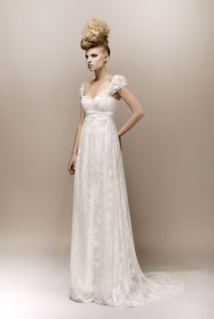 Collection Max Chaoul 2013 designer French wedding dress #weddingdress