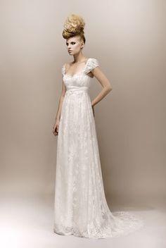 Robe de Mariée : Collection Max Chaoul 2013, wedding dress  http://lamarieeencolere.com/post/32723236439/maxchaoul2013#