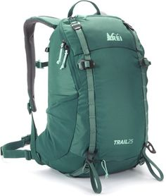 This compact, durable women& pack carries loads comfortably, organizes a variety of essentials and includes a built-in raincover. Available at REI, Satisfaction Guaranteed. Hiking Staff, Camping And Hiking, Camping With Kids, Hiking Gear, Tent Camping, Camping Gear, Backpacking Hammock, Hiking Essentials, Winter Hiking