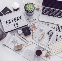 "441 Likes, 13 Comments - Joana Leite (@styletraces) on Instagram: ""< #fridaythe13th > feeling like self LOVE ❤ • messy & classy #desksituation and ""I feel SO good""…"""