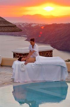 Santorini Princess Luxury SPA Hotel in Greece #KSadventure #KendraScott