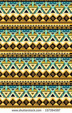ethnic pattern by kenee, via ShutterStock
