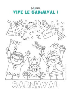 Coloriage carnaval