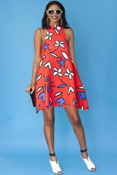 Cadie Scuba Swing Dress- Lovely   - The 11 Dresses We Have Our Eye On Now That Spring is On Its Way
