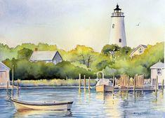 Okracoke Island Lighthouse web.jpg (193092 bytes)