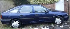 Vauxhall Cavalier MK3 Blue (My 4th Car)