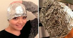 This Girl Covered Her Hair With Aluminum Foil After Washing. Beauty Care, Beauty Hacks, Best Hairdresser, Hair Quality, Healthy Hair Growth, Strong Hair, Hair Blog, Tips Belleza, Hair Health