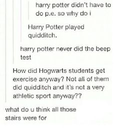 I love how there's nearly always a logical answer to every seemingly befuddling question about the wizarding world