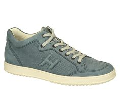 Hogan Sneaker H168 perforated nubuck leather shoes - Italian Boutique €224