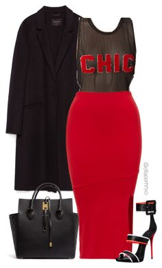 """""""Chic"""" by efiaeemnxo ❤ liked on Polyvore featuring Zara, Michael Kors and Giuseppe Zanotti"""