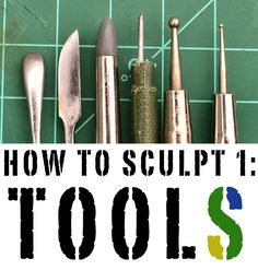 How to Sculpt 1: Tools of the Trade by Mr. Pink - Faeit 212: Warhammer 40k News and Rumors