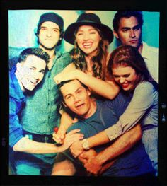Colton Haynes, Crystal Reed, Dylan O'brien, Holland Roden, Tyler Posey, and Tyler Hoechlin.