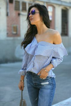 The Best Statement Tops Under $100 - Andee Layne Edgy Style, Casual Chic Style, Hijab Fashion, Fashion Outfits, Fasion, Winter Outfits, Casual Outfits, Fashion Images, Fast Fashion