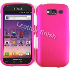 RUBBER COATED HARD CASE FOR SAMSUNG GALAXY S BLAZE 4G T769 RUBBERIZED HOT PINK ** Click image to review more details.