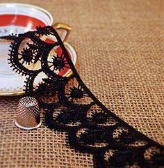 NEW Black Guipure lace M330 Haberdashery, Ethnic, Ribbon, Indian, Traditional, Boho, Lace, Style, Tape